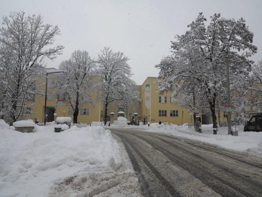 Michael Pacher Straße und Haupteingang