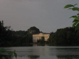 Leopoldskroner Weiher und Schloss Leopoldskron