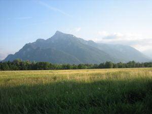 Untersberg (von Leopoldskron aus)